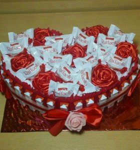 Торты из сладостей