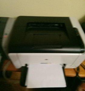 Цветной Принтер HP LazerJet CP1025 color