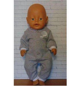 Комбинезон для куклы Бэби Бон 43 см