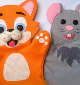 Развивающие игрушки - куклы перчатки