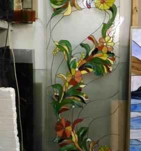 Витражи художественные из стекла