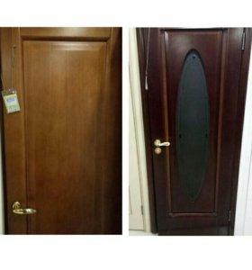 двери шпон с выставки
