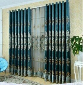 Продам шторы+тюль