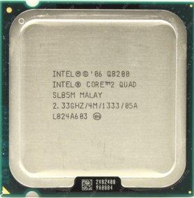 Процессор intel core tm2 quad 2.33GHZ сокет 775