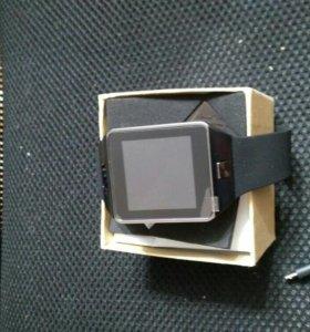Продаются часы Smart watch DZ09 + запасная батарея