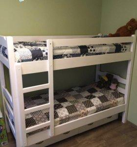 Новая двухъярусная кровать Next