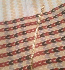 Золотая цепочка на руку