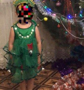 Костюм , платье елочка