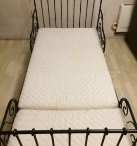 Кровать детская подростковая с матрасом
