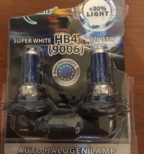 Лампочки.HB4.Противотуманка.Галоген.Белый свет.