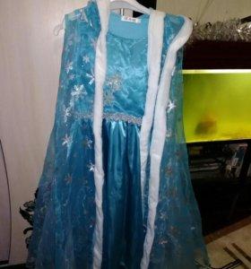 Продается костюм Эльзы из м/ф холодное сердце