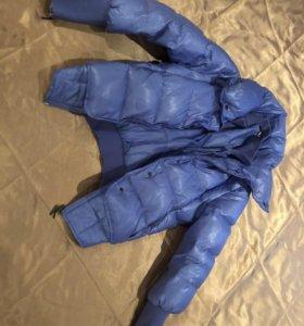 Куртка тёплая короткая зимняч