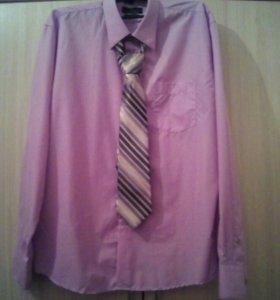 Продам рубашку+галстук 1500=00.