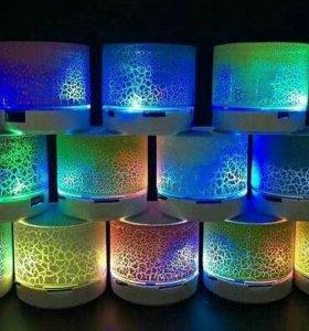 Bluetooth колонка A9 с светодиодной подсветкой