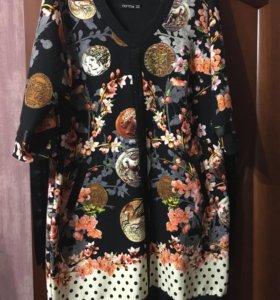 Платье для шикарной девушки р 56-60
