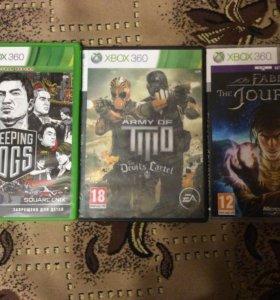 3 игры на Xbox 360