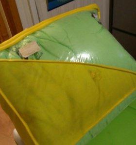 Подушка и одеяло детские, бамбук, новые