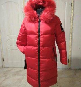 Пальто куртка пуховик 46, 48, 50.