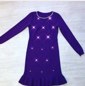 Платье с бусинками 42-44