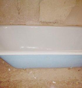 Ванна чугунная эмалированная