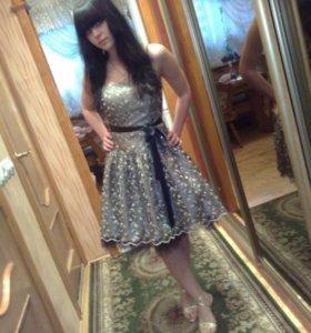 Платье вечернее,коктельное,праздничное.Новое.Торг.
