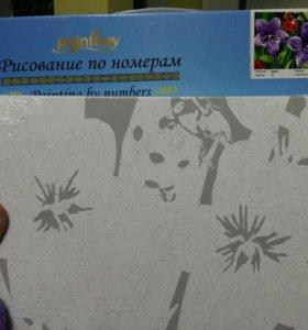 Детская картина по номерам 30х40см