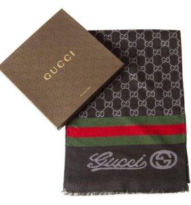 Шарф кашне Gucci качество, в коробке новый