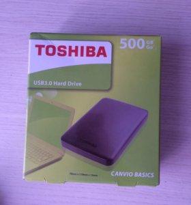 Внешний диск TOSHIBA 500GB