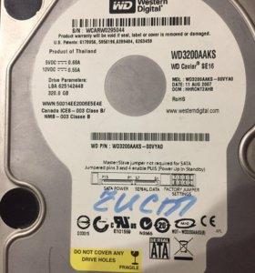 Жесткий диск 320 для пк