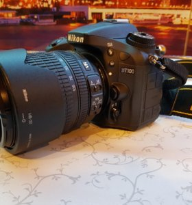 Продам зеркалку Nikon D7100 Kit 18-105 mm