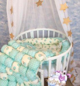 Гнездо- кокон для новорожденного