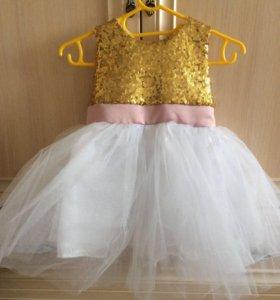 Платье на 1,5-2года
