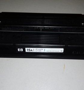 Картридж лазерный HP 15A C7115A черный