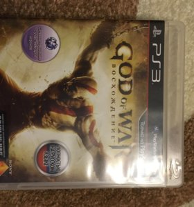 God of war восхождение для ps3
