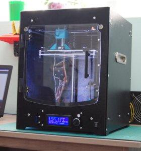 3D Принтер. Клон Ultimaker стальной корпус.