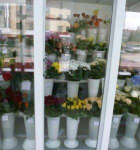 "Для цветов стеллаж ""ФлораЛайн""."