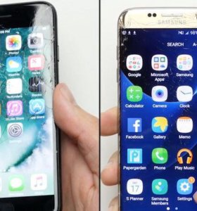iPhone 7 128gb и Samsung Galaxy S7 EDGE