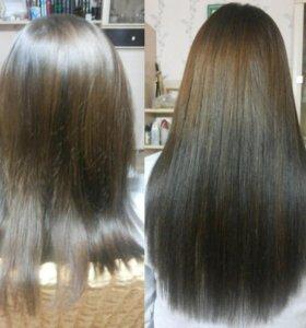 Наращивание волос, коррекция, снятие. Выезд и на д