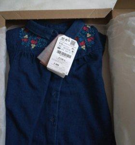 Рубашка 80см Zara BabyGirl