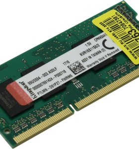 Kingston ValueRAM (2 Гб x 1) SO-DIMM DDR3 1600 МГц