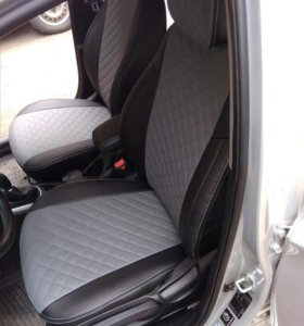 Чехлы РОМБ для Hyundai Solaris