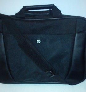 Сумка (портфель) для ноутбука НР, ремень
