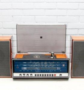 Радиола Вега 312 с современным ФМ диапазоном