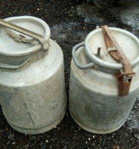 Бидон алюминиевый на 40 литров
