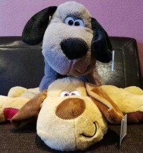 Игрушка подушка собака. Символ года