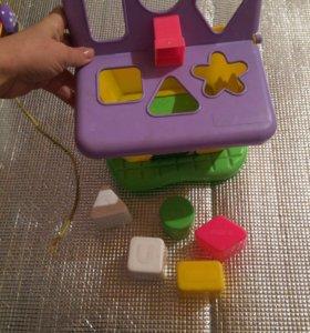 Домик развивающие игрушки