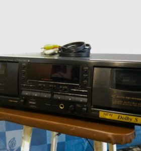 Реверсная двухкассетная дека Pioneer CT-W604RS
