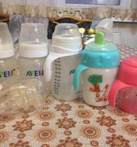 Бутылочки AVENT
