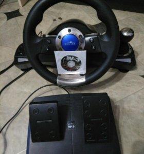Гоночный игровой руль