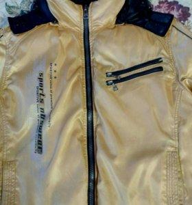 Куртка спортивная, зимняя.